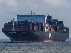 APL Vanda 01 (U. Heinze) Tags: cuxhaven containerschiff container vessel ship schiff nordsee elbe olympus wasser