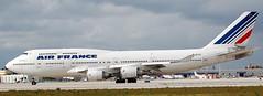 Boeing 747-428 F-GITA (707-348C) Tags: miami florida kmia mia airliner jetliner boeing boeing747 b744 fgita afr airfrance usa 2008 passenger