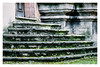 Silent Stones (Thomas Listl) Tags: thomaslistl color analog filmphotography minoltax700 kodak portra400 urban stone stairs imageborders geometry lines steps muted