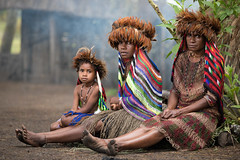 3 Generations (wu di 3) Tags: papua indonesia asia dani tribe women generations environment portrait