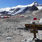 Arriving in Base Camp, Plaza de Mulas (4300m) thumbnail