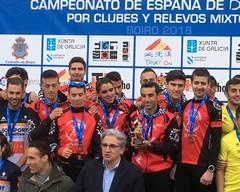 Triatlón Clavería Cto España Duatlón Clubes Relevos Mixtos Boiro 15