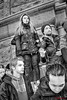 2018 FACE OF YOUTH . . . GUN PROTEST AT  MPLS CITY HALL (panache2620) Tags: protest youth highschool students monochrome bw resolve resolute challenging courage eos canon candid photojournalism socialdocumentary bodylanguage anger concern empathy