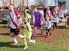 Bankies are led out by the 2008s (Stevie Doogan) Tags: clydebank auchinleck talbot mcbookiecom west scotland league superleague premier division holm park saturday march 2018 bankies scottish juniors