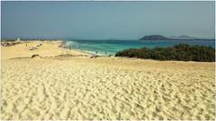 Corralejo Beach (Heinze Detlef) Tags: corralejo fuerteventura wasser wellen meer atlantik dünen sand wind sonne himmel insel loslobos dünengebiet nationaparks