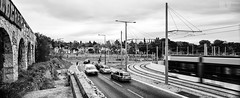 St Piernorama (M.Visions Photographie) Tags: marseille france panorama saint pierre cimetiere tramway black white bnw