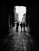 Into the Light (Dalliance with Light (Andy Farmer)) Tags: silhouette cityhall bw philly philadelphia street pennsylvania unitedstates us