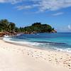 Anse Bazarca, Seychelles (pom'.) Tags: canoneos400ddigital february 2008 seychelles beach sea ocean indianocean ansebarzaca palmtrees 100 200 300 5000