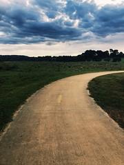 Dark beauty (Emma:king) Tags: landscape burradoo amateur beginner photography quiet stillness runningtrack field sky darkclouds iphone8 iphone morning