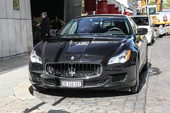 Switzerland (Grigioni) - Maserati Quattroporte S 2013 (PrincepsLS) Tags: switzerland gr grigioni germany berlin spotting maserati quattroporte s 2013