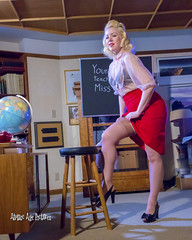 IMG_7104 (Atomic Age Pictures) Tags: jitterbugdoll amandalee atomicagepictures stockings heels heelsstockings pinup pinupgirls pinups hotforteacher teacher sexyteacher sheerblouse blonde