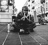 flutist (Oji 11) Tags: street urban streetphotography jungle city fuji x100f life real boy guy monochrome bw candid french riviera nice black white portrait