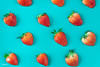 Pattern of yummy strawberries on blue background (rawpixel.com) Tags: background berry bluebackground closeup color colorful delicious dessert detox diet energy food fresh freshness fruit funky healthy ingredient juicy macro name natural nutrition nutritious organic pattern raw red refreshment ripe season seasonal seed stawberry straberries strawberry sweet taste tasty texture textured tropical vitamin wallpaper yummy