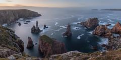 Coast of Scotland (Sergey-Aleshchenko) Tags: d850 nikon panorama sea