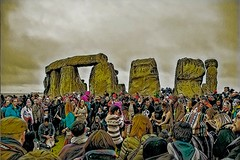 Spring into Action (Le monde d'aujourd'hui) Tags: solstice equinox stonehenge standing standingstones stonecircles wiltshire spring winter sunrise sketch