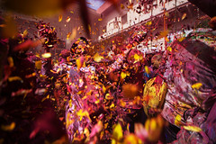 Widow Holi (Harshal Orawala) Tags: india 121clicks harshalorawala colours widow holi holi2018 flowers