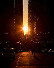 Chicagohenge shadow (Kenny C Photography) Tags: chicagohenge henge chihenge chicago windycity downtownchicago lakestreet sunset sunshine sun sunburst cta ctachicago ltrain ltracks shadow streetphotography enjoyillinois midwest illinois chitown chitecture architecture orange