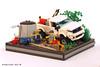 Ford Ranger T6 (Pixel Fox) Tags: lego ford ranger raptor diorama vignette offroad 4x4