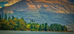 Glenorchy New Zealand (Steve4343) Tags: steve4343 glenorchy new zealand mountain mountains green yellow red colors fall