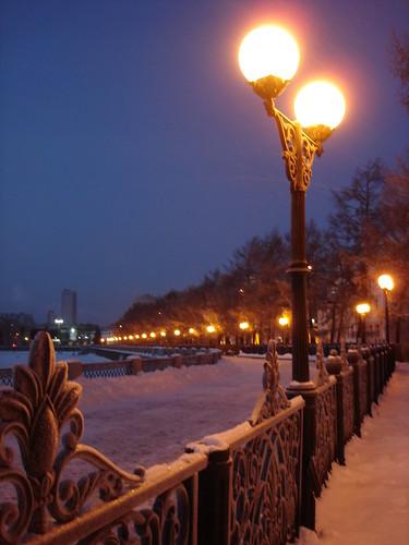 Вечерняя набережная ©  ayampolsky