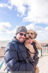 Brighton day out (Zoë Power) Tags: blueskies sea beach brighton coast uk seaside