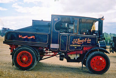 Foden Steam Tractor (SR Photos Torksey) Tags: steam wagon waggon lorry road transport traction engine rally vehicle vintage commercial classic foden