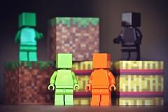 (Koboldmops) Tags: lego monofigs monochrome minecraft toy monochromatic minifigs