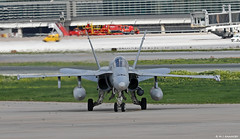 Ejército del Aire McDonnell Douglas EF-18M Hornet C.15-25/15-12, Ala 15 at Malaga AFB/LEMG for DAPEX-18 (Mosh70) Tags: malagacostadelsolairport lemg ejércitodelaire mcdonnelldouglas ef18mhornet ala12 ala15 dapex18