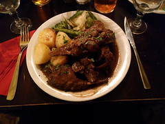 Rabbit (Peeping Thom) Tags: malta island insel europe republicofmalta eu euro sliema rabbit food essen potatoe dish plate mediterranean