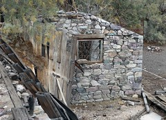 Miners Bunkhouse at Ibex Spring Mining Camp (Ron Wolf) Tags: deathvalleynationalpark historic ibexhills nationalpark abandoned building ghosttown landscape mine mining structure california