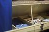 Coffin locker - USS Midway Museum, San Diego, CA (SomePhotosTakenByMe) Tags: coffinlocker locker indoor urlaub vacation holiday usa amerika america unitedstates california kalifornien sandiego stadt city ussmidway midway maritimemuseum museumsschiff schiff ship museum kriegsschiff warship flugzeugträger aircraftcarrier downtown innenstadt cabin kajüte schlafraum bett bed sandiegobay