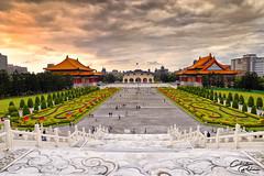 Chiang Kai Shek Memorial Hall (xian_budiman) Tags: taiwan taipei chiang kai shek memorial monument history historical landscape city cityscape nikon d750 sky cloud tamron flickr urban travel holiday