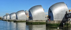 Thames Barrier (Mr_Pudd) Tags: riverthames thamespath martintidbury nationaltrail steel