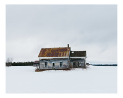 saint-jules (Mériol Lehmann) Tags: abandoned landscape winter house snow beauce canada rural quebec decay cold saintjules québec ca