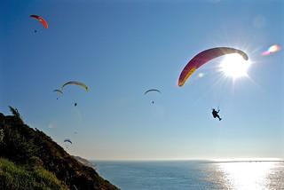 Paragliders Dune de Pyla France