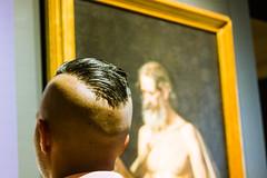 Coupe à la garçonne (dominiquita52) Tags: mexique mexico musée museum cheveux hairstyle coiffure