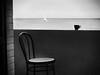 (Effe.Effe) Tags: chair sea sailing boat cup coffee sedia mare terrazzo tazza caffè bn bw blackandwhite biancoenero noiretblanc