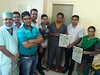 Shri Ram Hospital - Press Release (Doctor Sunil Chandak) Tags: roboticbariatricsurgeon s surgeon surgery weightlosssurgery shri ram hospital press release