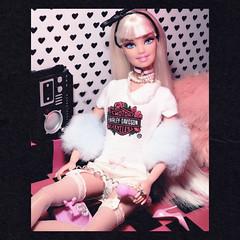Ooh, You're An Angel (alexbabs1) Tags: barbie dolls doll cute glam girly fun fluffy like virgin era madonna 80s vintage retro clone disco queen bangs fashionistas hair hairplay sarah palins