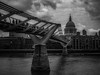 Millennium Bridge (davepickettphotographer) Tags: millennium bridge footbridge uk london riverthames river thames thamespath england city southbank southwalk cityoflondon stpauls cathedral