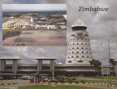 HRE01 (By Air, Land and Sea) Tags: airport postcard hre harare zimbabwe harareinternationalairport