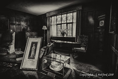 A Time Gone By.... [Explored] (Holfo) Tags: nationaltrust england packwoodhouse warwickshire window nikon d750 hdr monochrome sepia blackwhite photograph classic majestic fab explored old stately home