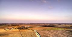 Oudkarspel and Noord-Scharwoude. (Alex-de-Haas) Tags: oogvoornoordholland dji dutch fc6310 holland nederland nederlands netherlands noordholland aerial aerialphotography air airballoon ballon balloon boerenland drone farmland landscape landschaft landschap lucht luchtballon meadows skies sky sundown sunset weilanden winter zonsondergang oudkarspel nl