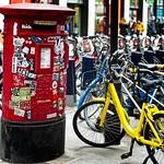 Bikes and Stickered Post Box thumbnail