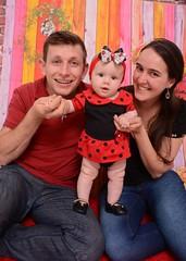 Family x3 (Mááh :)) Tags: família family 5meses 5months baby babygirl bebê joaninha ladybug