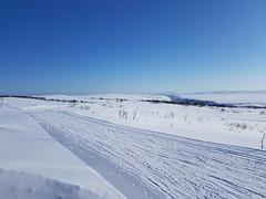 "The view from ""skihytta"" (GeirB,) Tags: varanger vadsø vadsoe vadso vinter vintersykling varangervidda vidde finnmark friskifinnmark fatbike fun østfinnmark offroad outdoor oakley april gekkobikes winter winterwonderland winterbike white diadora sweethelmet swix norway nordnorge northernnorway barentsregionen uteliv shimano snow playground arctic 70north"