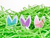 Hiding (Karen_Chappell) Tags: easter grass green bunnies rabbits decor decoration happyeaster holiday stilllife white blue pink purple pastel multicoloured colourful colours colour color