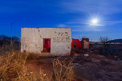 Cold Beer (Mike Girard) Tags: abandoned beerstore montoya newmexico route66 nightphotography lightpainting nikond7100 sigma1020mm protomachine moon