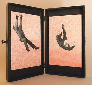 Four Men, Falling (open)