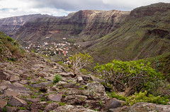 Valle Gran Rey valley, La Gomera (B_Diana) Tags: lagomera hiking vallegranrey valley mountains hills path landscape